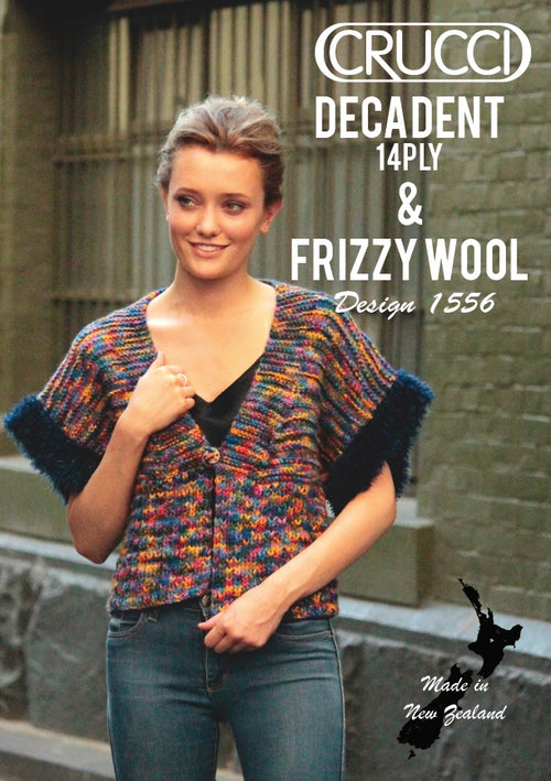 Crucci Pattern 1556 Decadent Frizzy Top