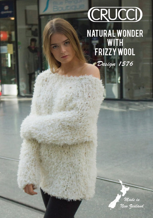 Crucci Pattern 1576 Extra Chunky Sweater