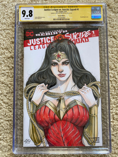 ZOE LACCHEI ORIGINAL ART CGC 9.8 SIGNATURE SERIES