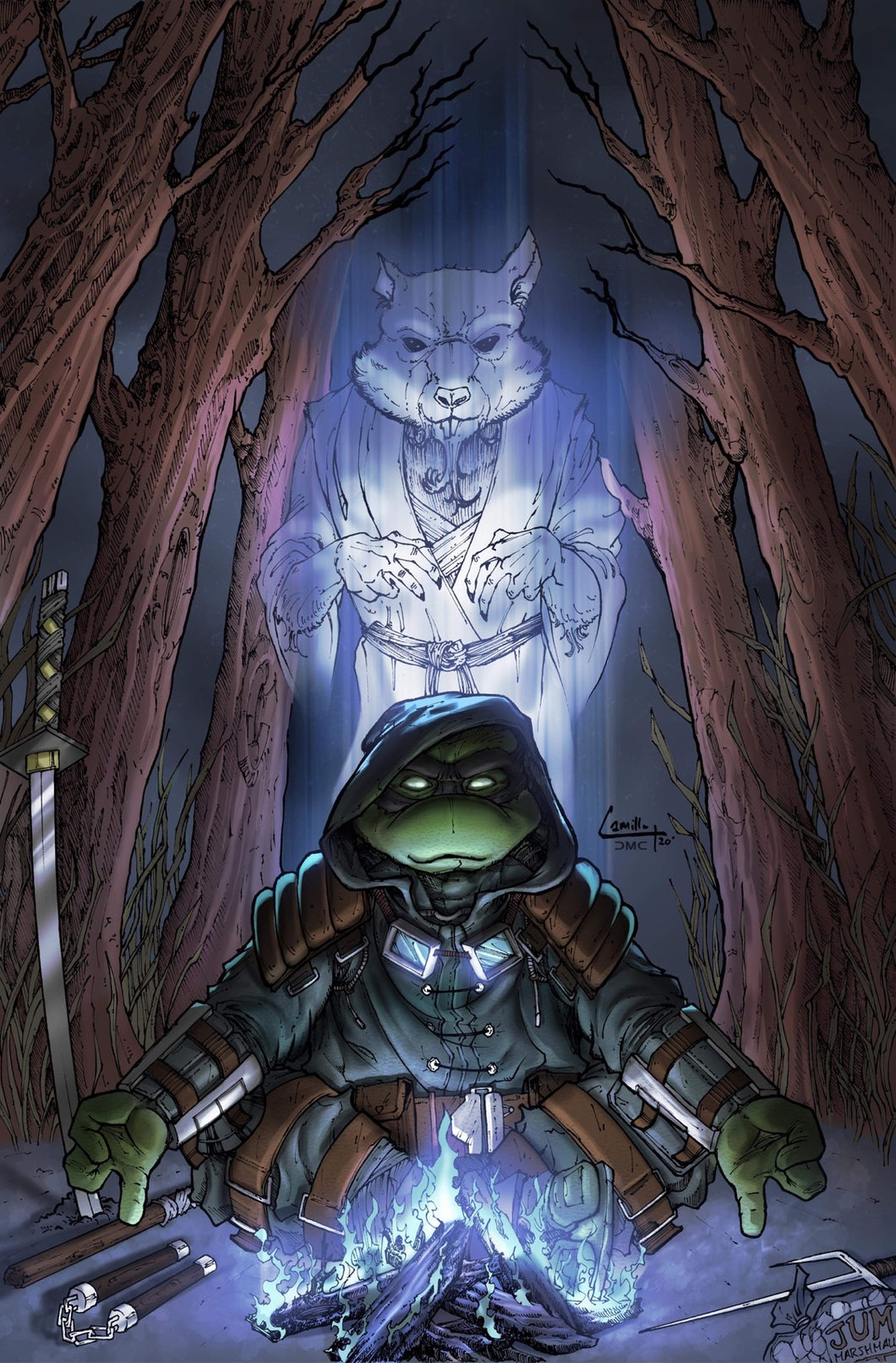 TMNT THE LAST RONIN #2 PIETRANTONIO  EXCLUSIVE COVER PRE-ORDER