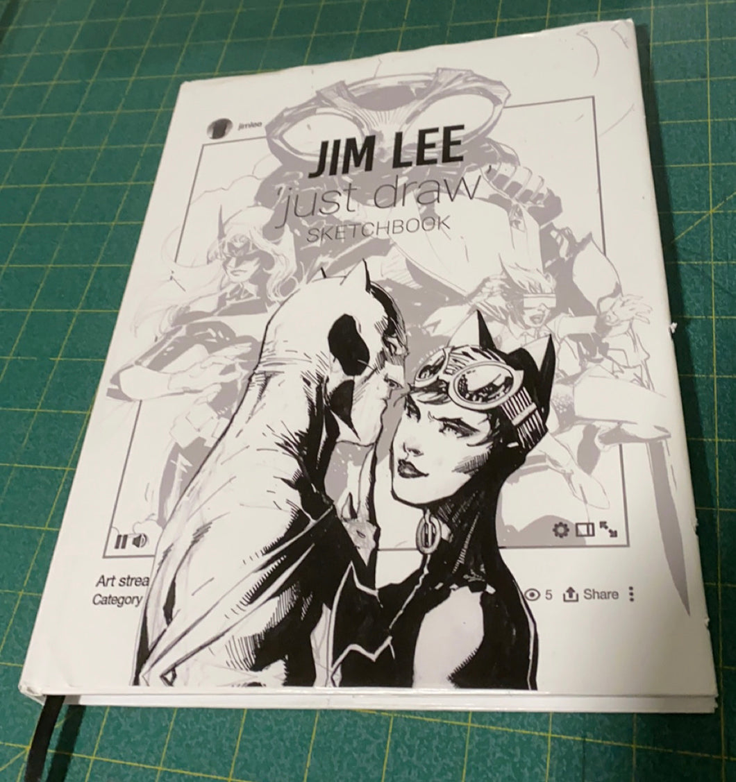 JIm Lee's 2021 Hardcover Sketchbook