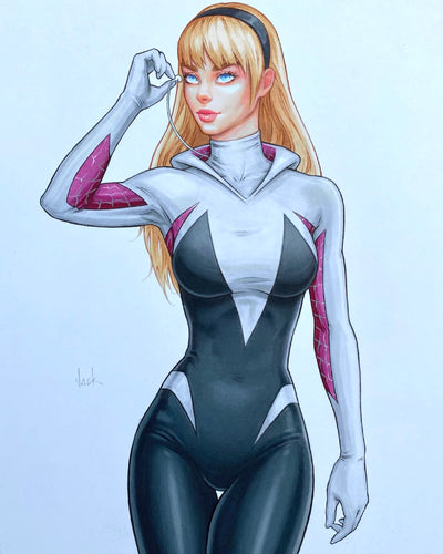 Spider-Gwen Original Art by Will Jack