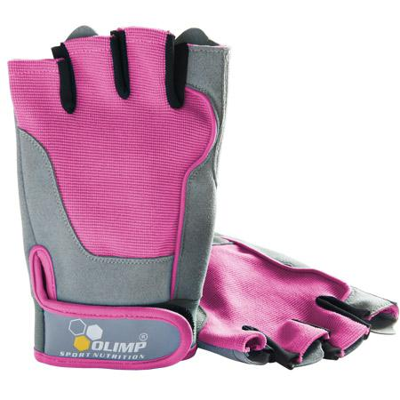 Olimp Accessories Fitness One, Training Gloves, Pink - X-Small