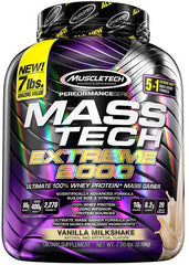 MuscleTech Mass-Tech Extreme 2000, Triple Chocolate Brownie - 3180 grams
