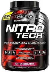 MuscleTech Nitro-Tech, Vanilla - 1800 grams