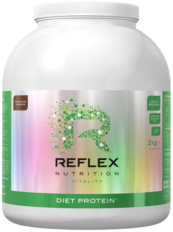 Reflex Nutrition Diet Protein, Banoffee - 2000 grams