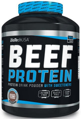 BioTechUSA Beef Protein, Strawberry - 1816 grams