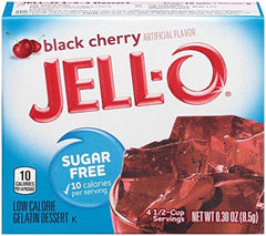 Jell-O Sugar Free Gelatin Dessert, Strawberry-Banana - 8.5 grams
