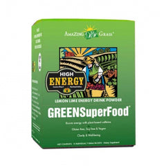 Amazing Grass Green SuperFood Energy Lemon and Lime 15 x 7g