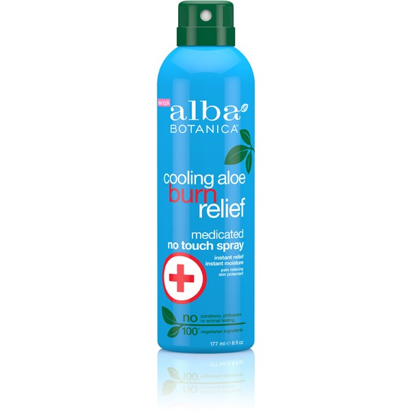 Alba Botanica Cooling Aloe Burn Relief Medicated Spray 171ml