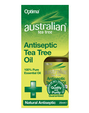 Optima Australian Tea Tree Antiseptic Tea Tree Oil 25ml