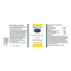 BioCare Essential Fatty Acids 60's