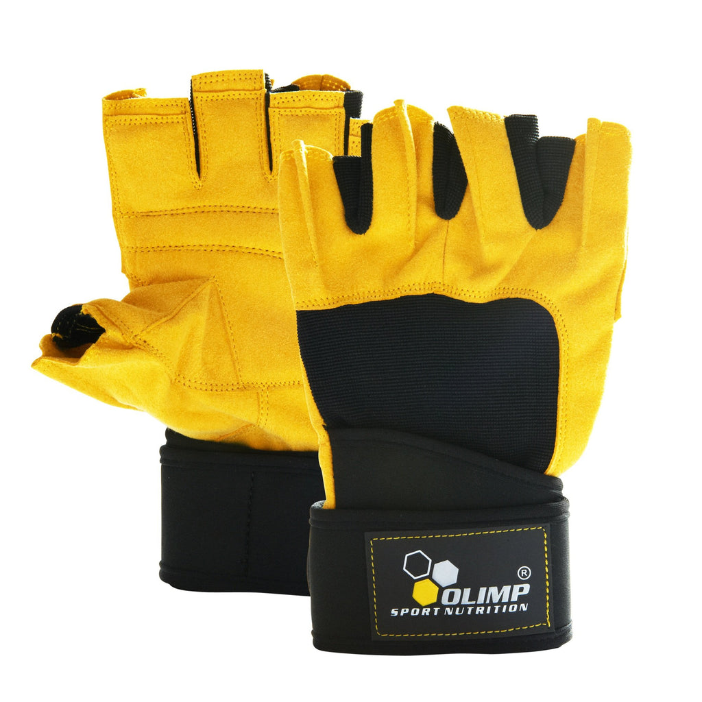 Olimp Accessories Hardcore Raptor, Training Gloves, Yellow - XX-Large