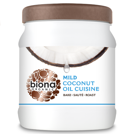 Biona Organic Mild Odourless Coconut Oil Cuisine 875ml/800g