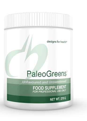 Designs For Health PaleoGreens Unflavoured and Unsweetened 270g