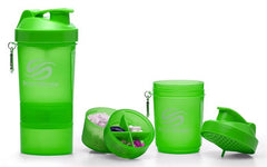 SmartShake Original Series Shaker, Neon Series Green - 600 ml.
