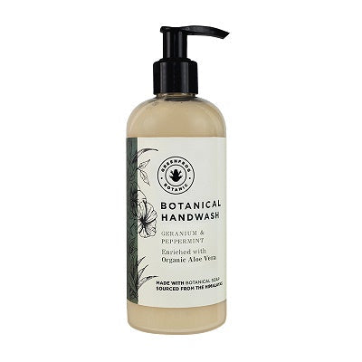 Greenfrog Botanic Botanical Handwash Geranium & Peppermint 290ml