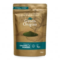 Green Origins Organic Chlorella Powder 75g