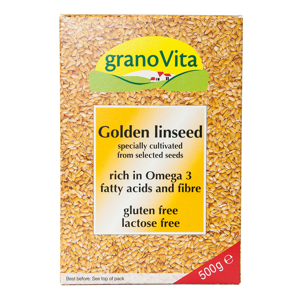 granoVita Golden Linseed (Formerly Linusit) 500g