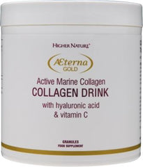 Higher Nature Aeterna Gold Collagen Beauty Drink Powder 80g