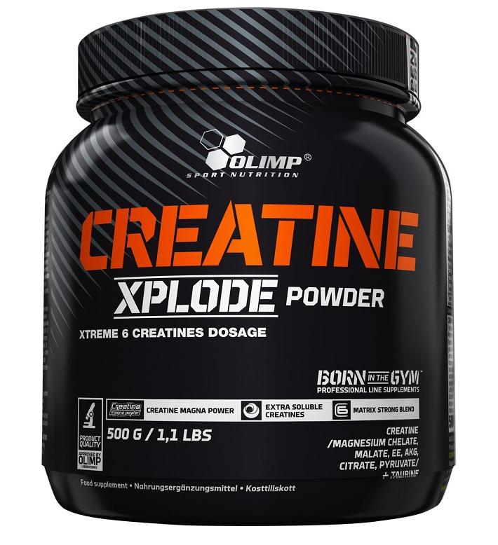 Olimp Nutrition Creatine Xplode, Orange - 500 grams