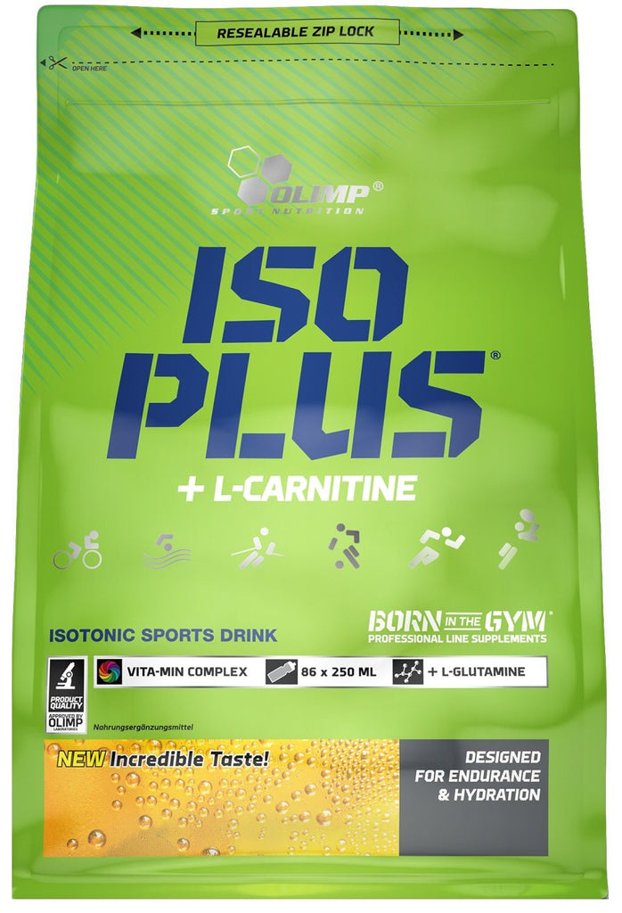 Olimp Nutrition Iso Plus, Orange - 1505 grams