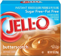 Jell-O Instant Pudding & Pie Filling Sugar Free, Butterscotch - 28 grams