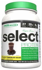 PEScience Select Protein Vegan Series, Chocolate Bliss - 918 grams