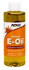 NOW Foods Vitamin E Natural Liquid - 118 ml.