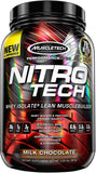 MuscleTech Nitro-Tech, Milk Chocolate - 907 grams