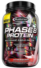 MuscleTech Phase8 Protein, Milk Chocolate - 907 grams