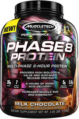 MuscleTech Phase8 Protein, Milk Chocolate - 2090 grams