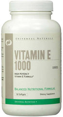 Universal Nutrition Vitamin E 1000, 1000 IU - 50 softgels