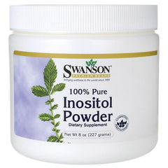 Swanson Inositol, 100% Pure Powder - 227 grams