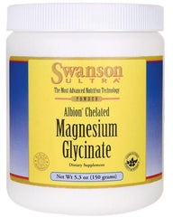 Swanson Albion Chelated Magnesium Glycinate Powder - 150 grams