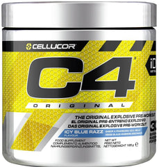 Cellucor C4 Original, Icy Blue Razz - 195 grams