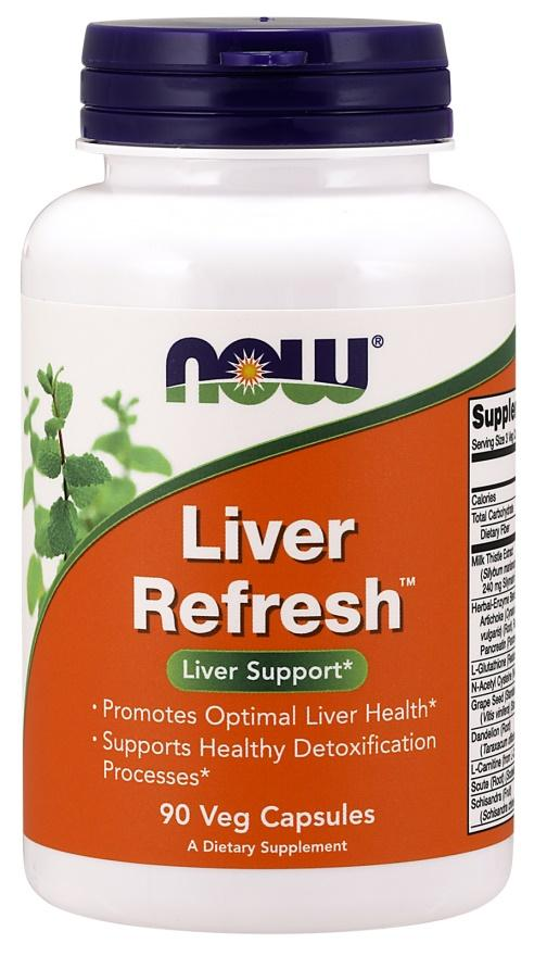NOW Foods Liver Refresh - 90 vcaps