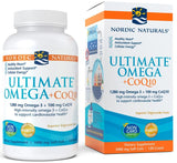 Nordic Naturals Ultimate Omega + CoQ10, 1280mg - 120 softgels