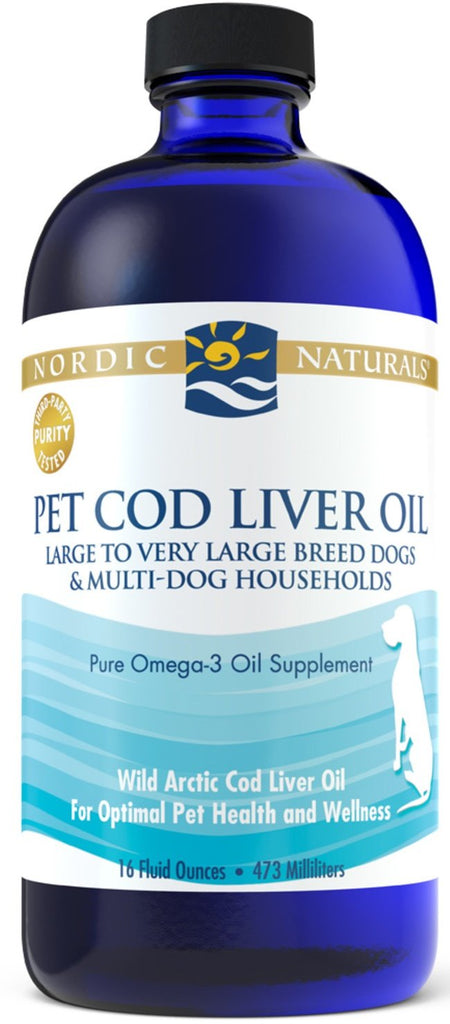 Nordic Naturals Pet Cod Liver Oil - 473 ml.