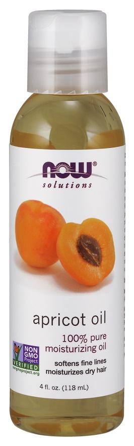 NOW Foods Apricot Oil - 118 ml.