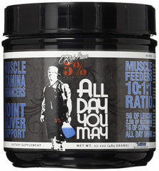 5% Nutrition AllDayYouMay, Blue Raspberry - 465 grams