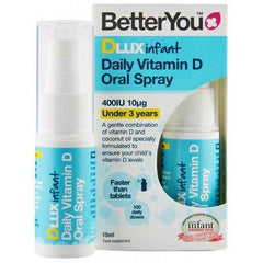 BetterYou DLux Infant Daily Vitamin D Oral Spray - 15 ml.