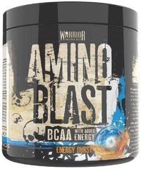 Warrior Amino Blast, Blue Raspberry - 270 grams