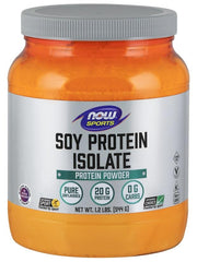 NOW Foods Soy Protein Isolate, Unflavored - 544 grams