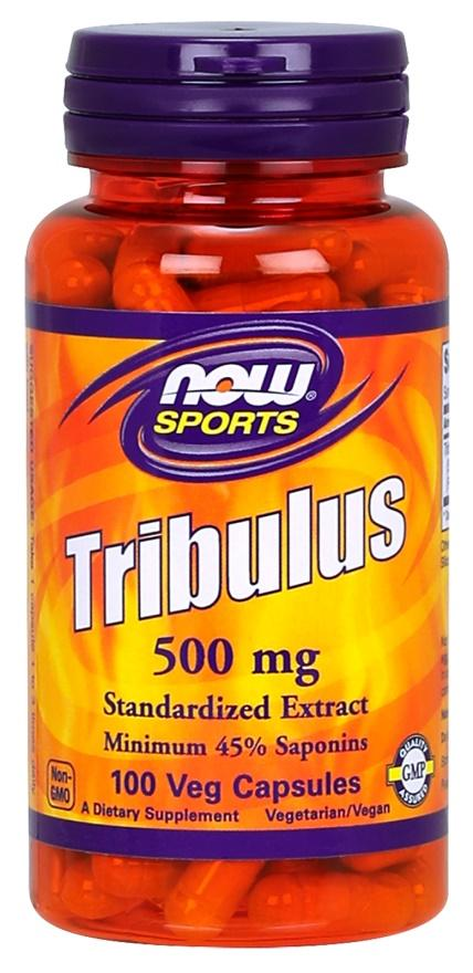 NOW Foods Tribulus, 500mg - 100 vcaps
