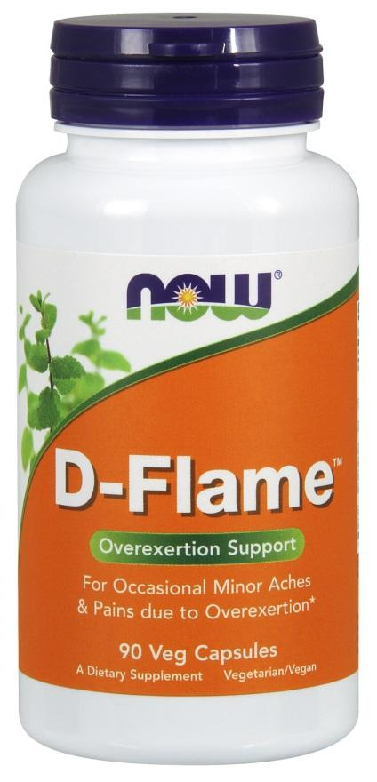NOW Foods D-Flame - 90 vcaps