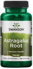 Swanson Astragalus Root, 470mg - 100 caps