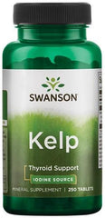 Swanson Kelp Iodine Source - 250 tablets
