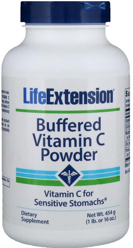 Life Extension Buffered Vitamin C Powder - 454 grams