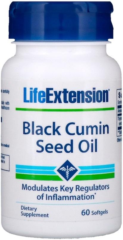 Life Extension Black Cumin Seed Oil - 60 softgels